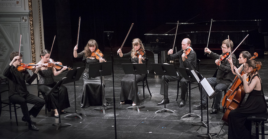CHAMBER MUSIC AT A HIGH LEVEL